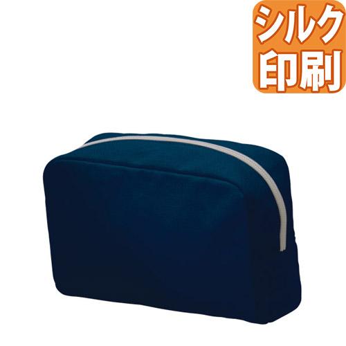 キャンバスポーチ マチ付きM カラー シルク印刷対応
