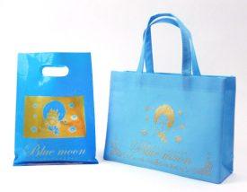 ブルームーン様オリジナル不織布バッグ&オリジナルポリ袋