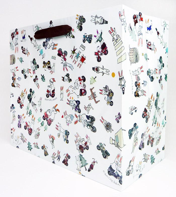 バームクーヘン用紙袋