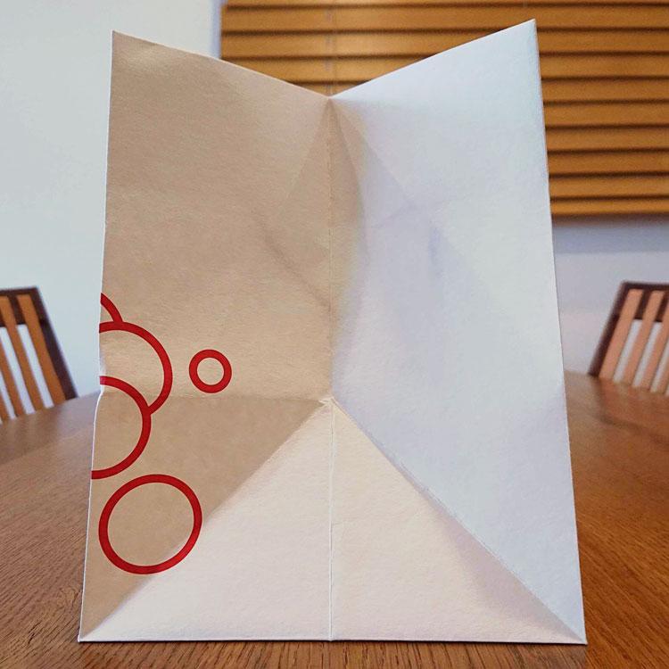 オリジナル紙袋 マチ