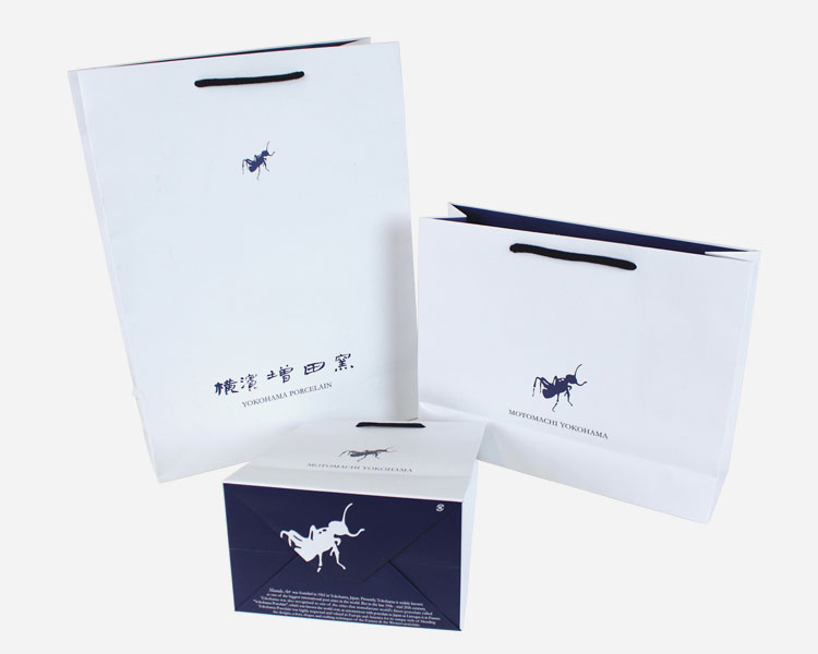 横濱増田窯様 オリジナル紙袋