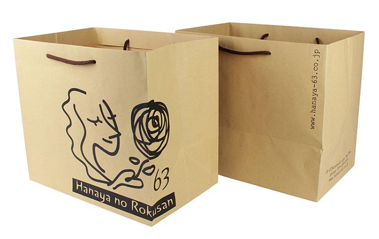 株式会社花やの六さん様 オリジナル紙袋