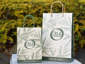 OIL&VINEGAR©様 オリジナル紙袋