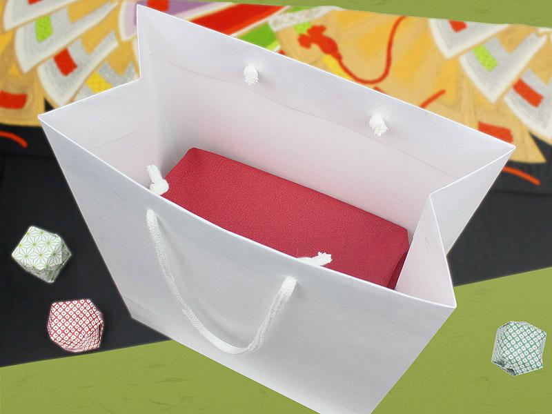 和紙風クラフトバッグ A4 イメージ