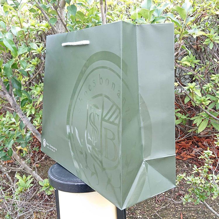 オリジナル紙袋 UV印刷
