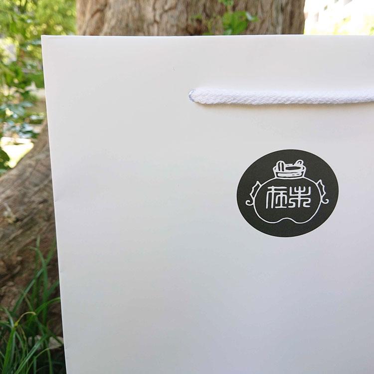 オリジナル紙袋 ロゴ