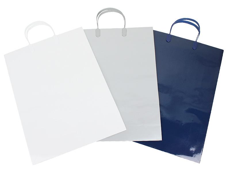 アクティブバッグロングサイズは白、シルバー、紺のカラーバリエーションでご用意