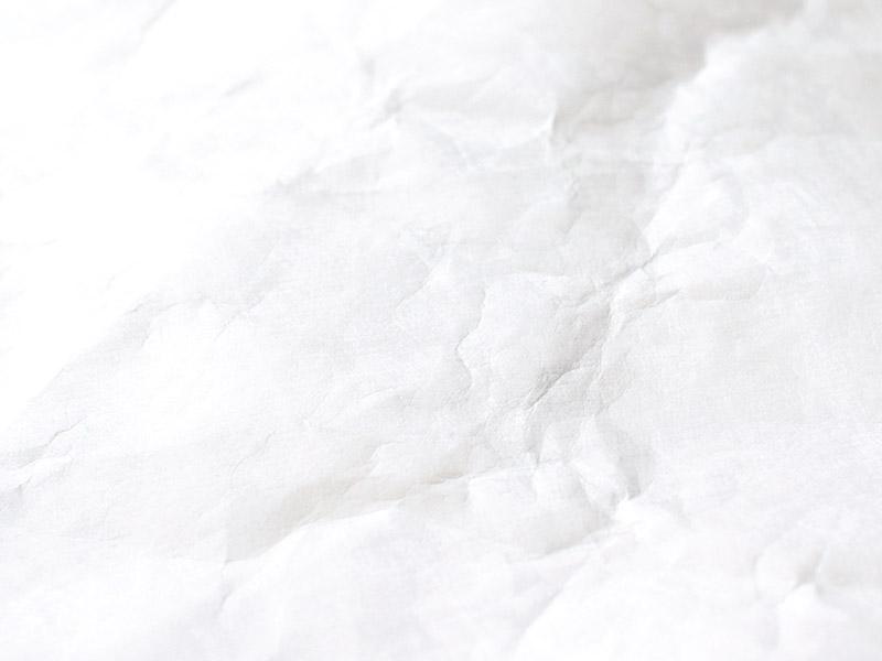 タイベック白の生地表面アップ