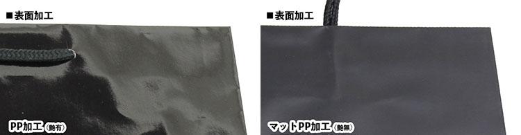 グロスPPとマットPPの比較写真