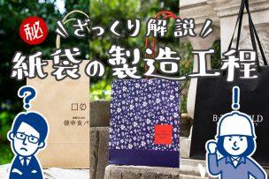 フルオーダー紙袋の製造工程をさくっとご紹介