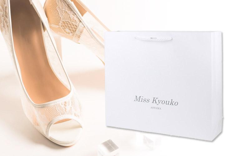 婦人靴用オリジナル紙袋イメージ