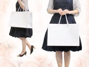 ブライダル紙袋S ホワイト
