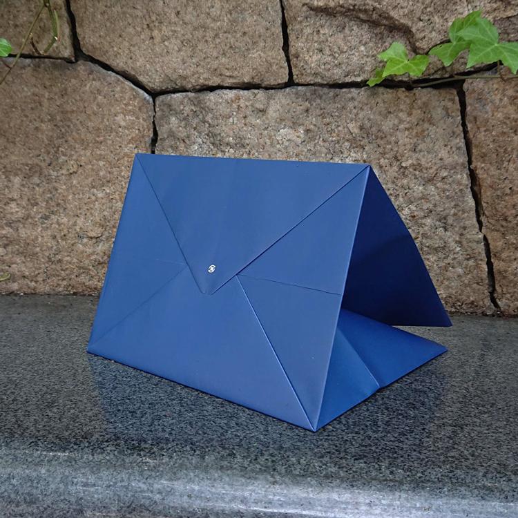 オーダーメイドだから紙袋の底面も印刷可能