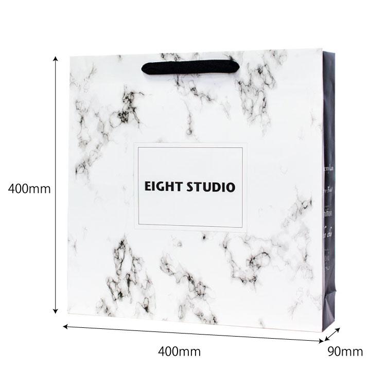 オリジナル紙袋のサイズ表記