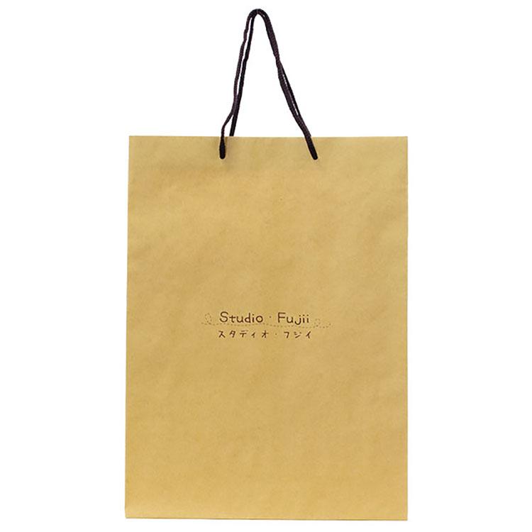 未晒しクラフト紙のオリジナル紙袋