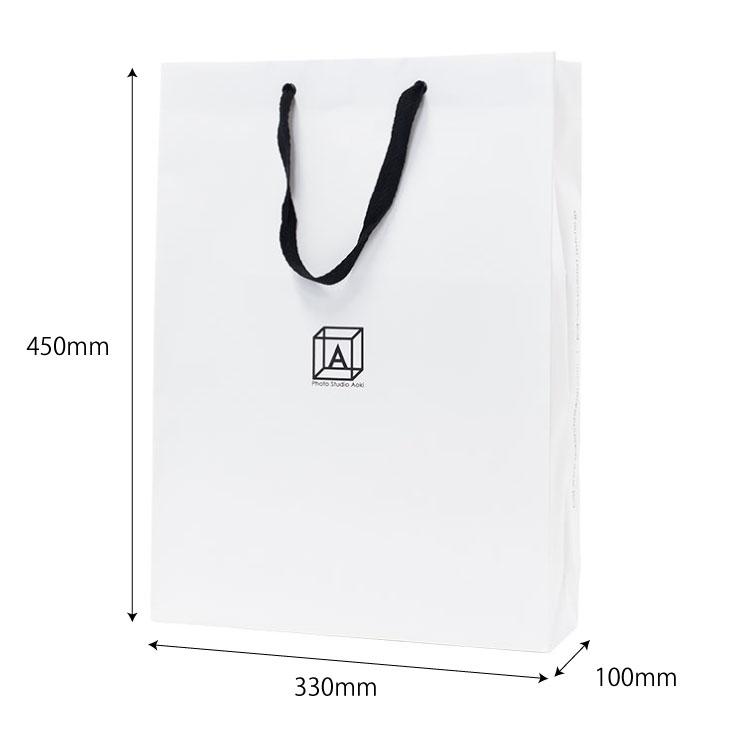 オリジナル紙袋サイズ詳細