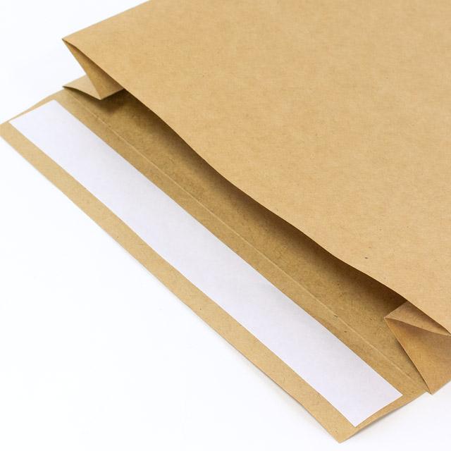 オリジナル宅配袋 便利な両面テープ付き