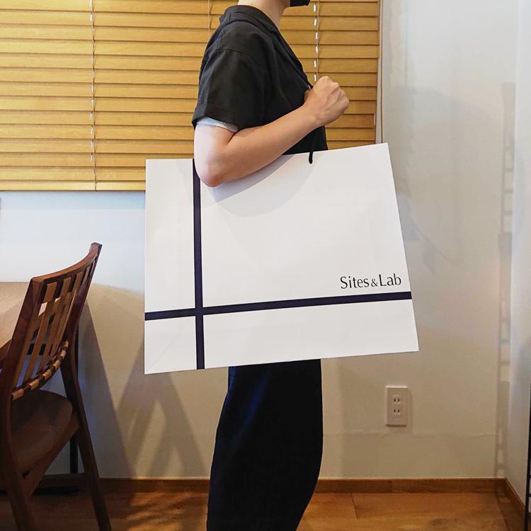 大きいサイズの紙袋も製作可能